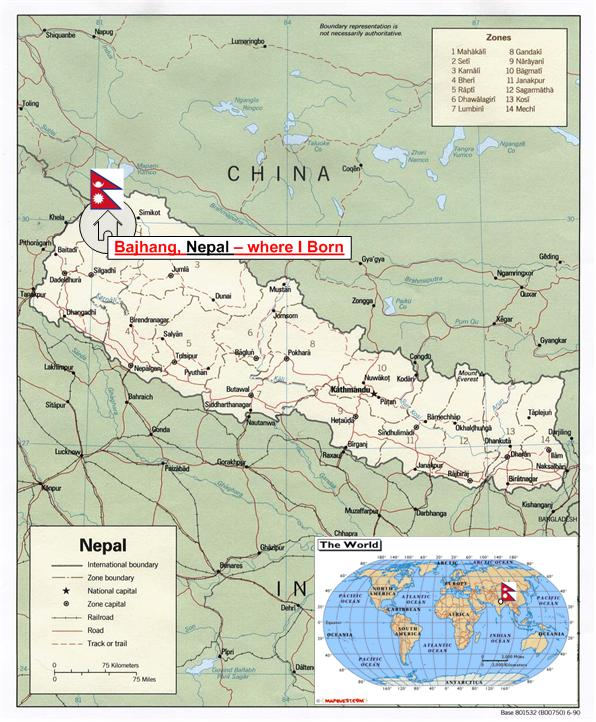 nepal in world